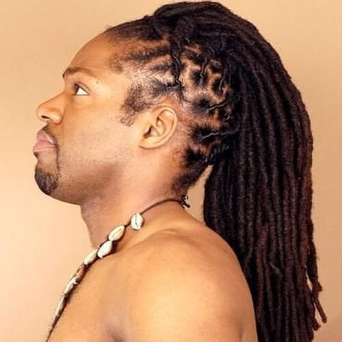 Long Locs Faux Hawks