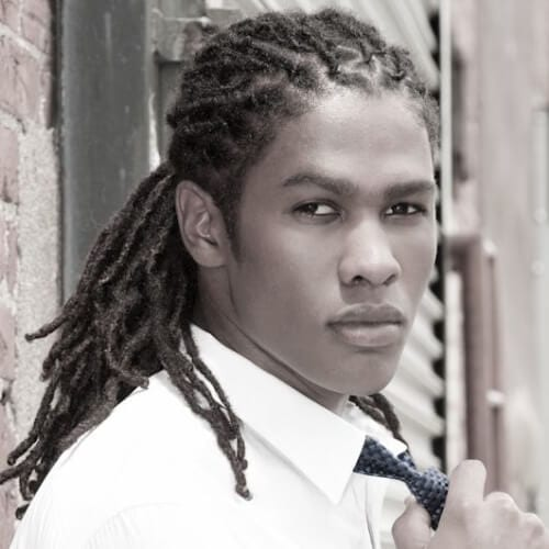 Low Dreadlock Styles for Men