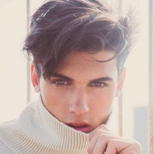 Messy Hairstyles For Men With Wavy Hair