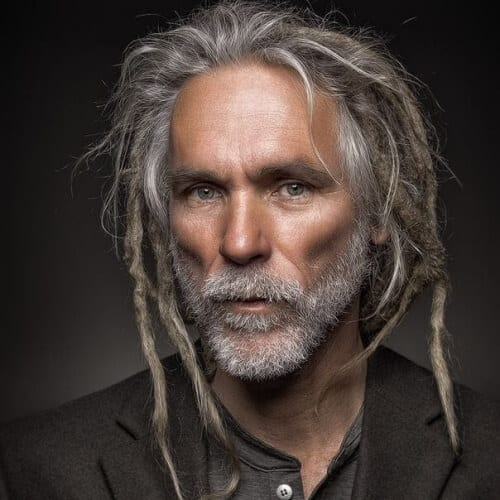Mixed Dreadlock Styles for Men