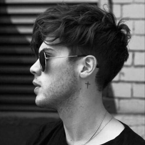 Outstanding Wavy Hairstyles For Men 50 Waves Ways To Wear Yours Men Schematic Wiring Diagrams Amerangerunnerswayorg
