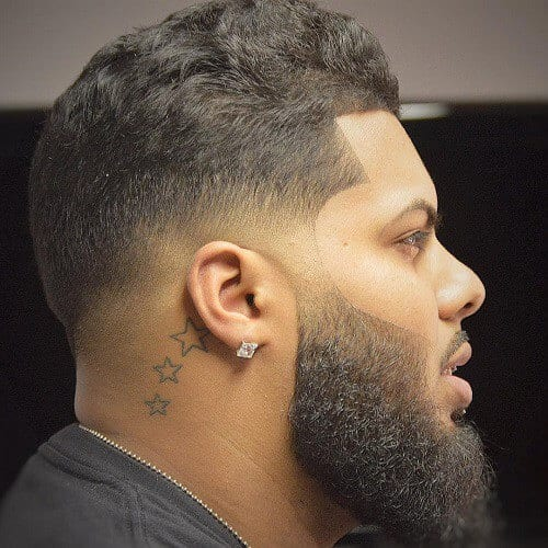 Wavy Black Men Hairstyles