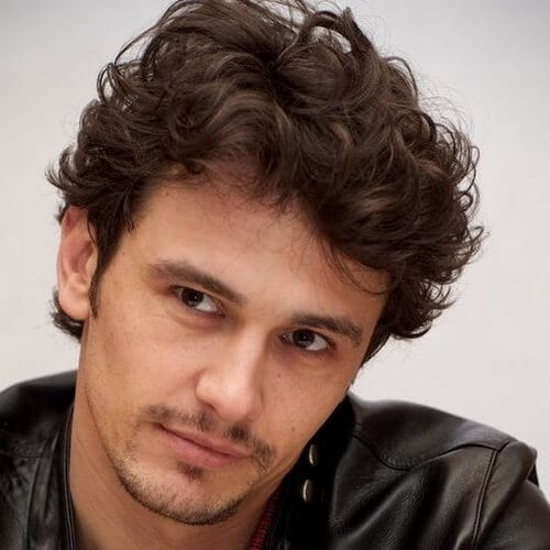 Wavy Curly Hairstyles for Men