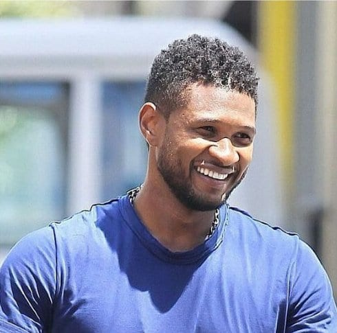 usher hairstyles for black men