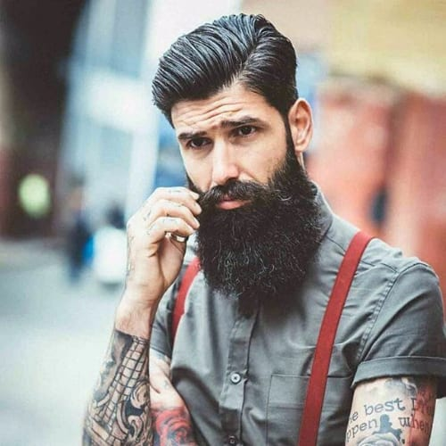 Wet Comb Over Hairstyle - Hipster Hairstyle