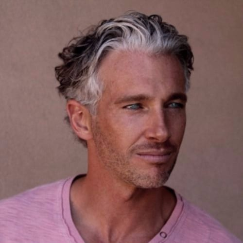 Hairstyles for mature men