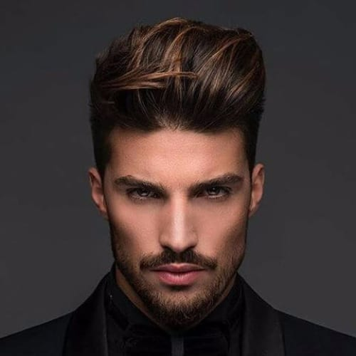Comb Over Hairstyles for Men - Modern Pompadour