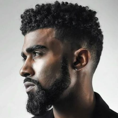 50 Exceptional Flat Top Haircuts for Men- Natural Spikes Flat Top