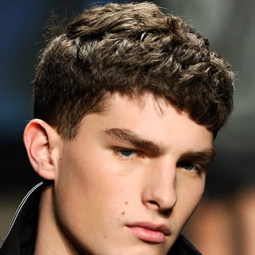 Short Hairstyles for Men with Thick Curly Hair