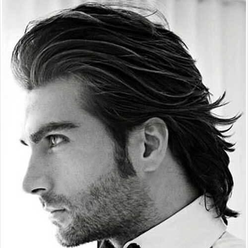 Slicked Back Elegant Hairstyles