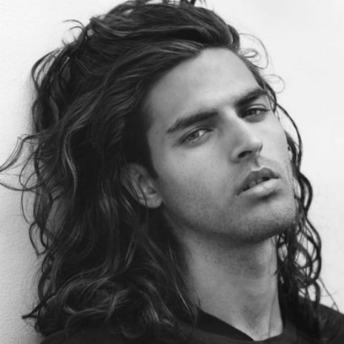 61 Natural Curly Hairstyles For Men Men Hairstyles World