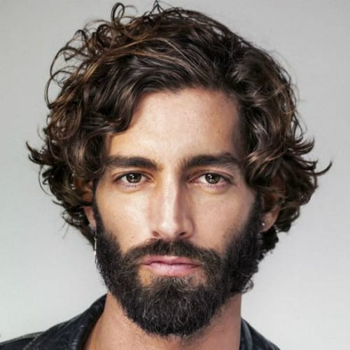 60 Curly Hairstyles For Men To Style Those Curls Men