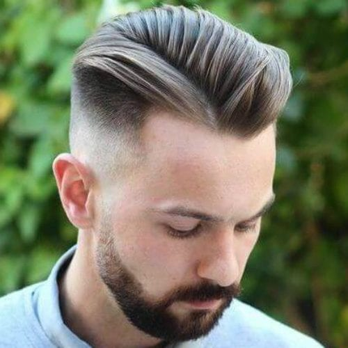 Image result for Side Slick Back Style.