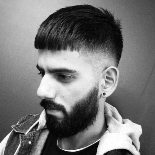Blunt Bangs Hairstyle