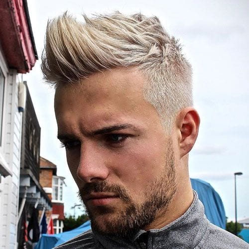 Faux Hawk Taper Fade