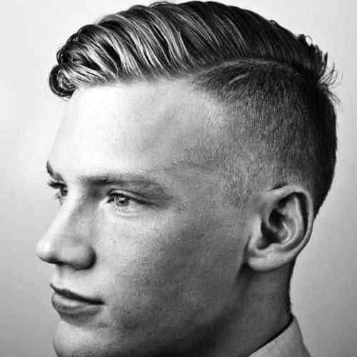 Hard Part Haircut Military