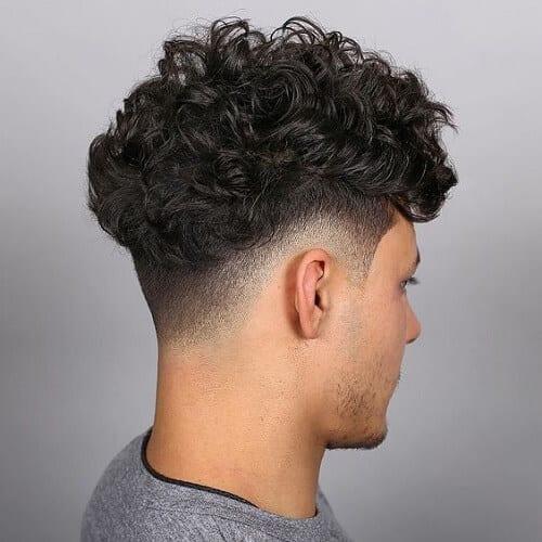 Long Taper Haircut Curly Hair 13