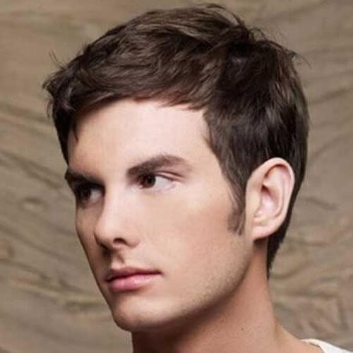 Subtle Cover Up Hairstyles For Men With Receding Hairlines