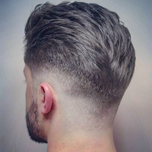 Thick Hair Taper Fade Haircut