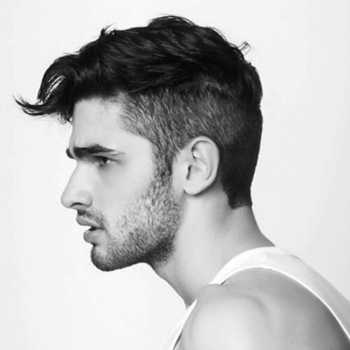 Asymmetrical Short Haircuts for Men