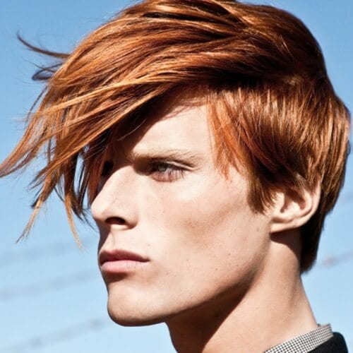 Low Maintenance Emo Hairstyles for Guys