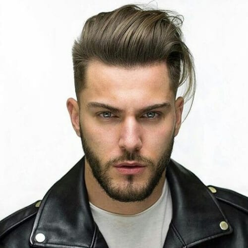 50 classy pompadour haircut ideas men hairstyles world pompadour with long hair urmus Image collections