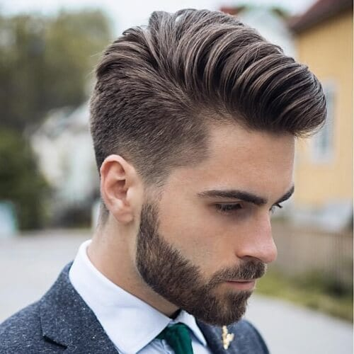 Shaved Sides Hairstyles For Men 2019 foto