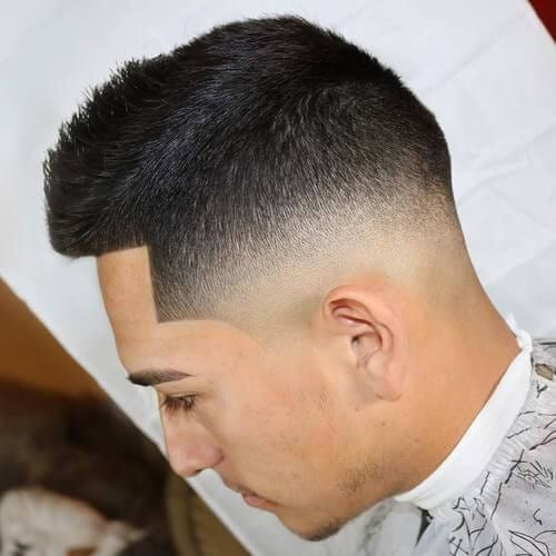 Spiked Ivy League Haircut