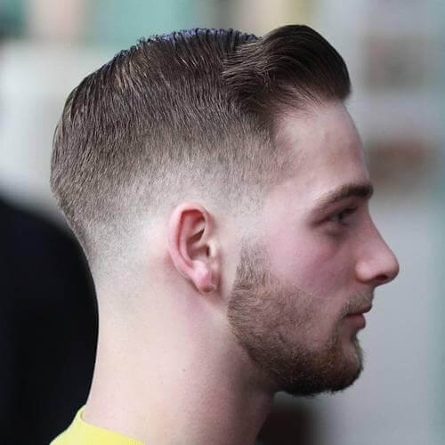Taper Fade Ivy League Haircut