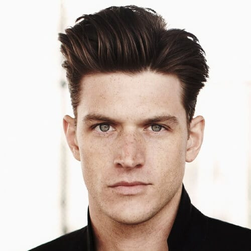 Voluminous Hairstyle for Men