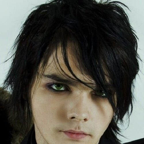 Wispy Bangs Emo Hairstyles for Guys