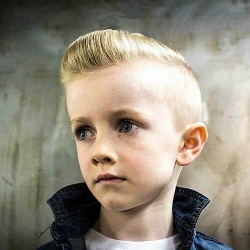 Young Man Pompadour Haircut