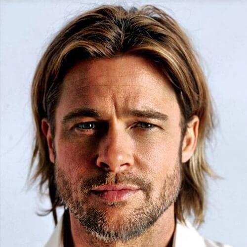 Brad Pitt Medium Hair
