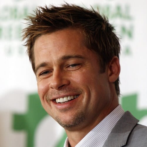 Brad Pitt Short Haircut
