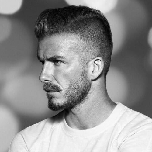 Brush Up David Beckham Hairstyles