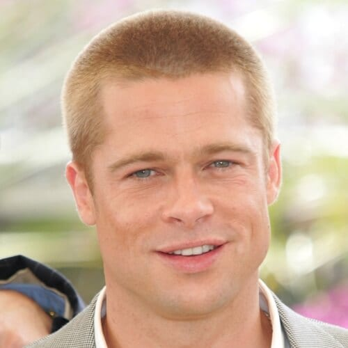 Buzz Cut Brad Pitt Hairstyles