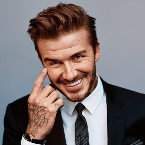 Classy David Beckham Hairstyles