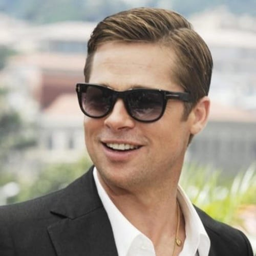 Comb Over Brad Pitt Hairstyles