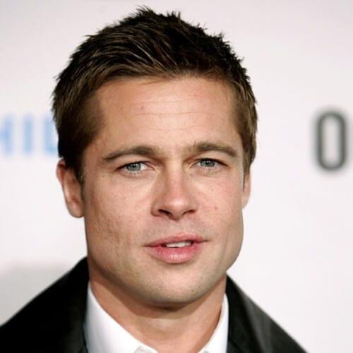 Crew Cut Brad Pitt Hairstyles