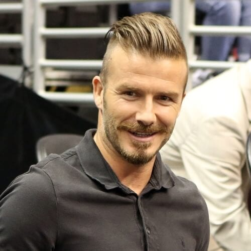 David Beckham Hairstyles Undercut