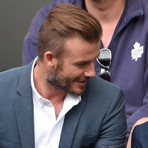 Disconnected Undercut David Beckham Hairstyles