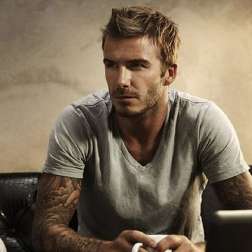 Fohawk David Beckham Hairstyles