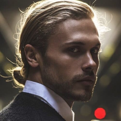 Formal Man Bun Hairstyle