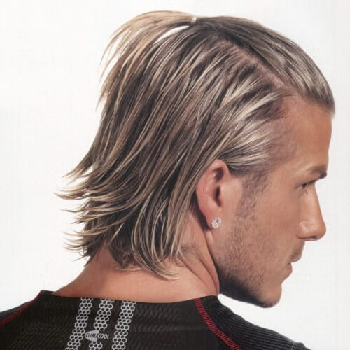 50 Irresistible David Beckham Hairstyles Men Hairstyles World