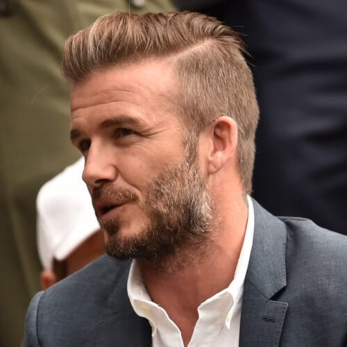 Hard Part David Beckham Hairstyles