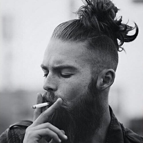 High Man Bun Hairstyle