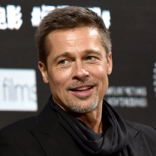 Ivy League Brad Pitt Hairstyles