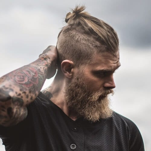 50 Handsome Man Bun Hairstyles Men Hairstyles World