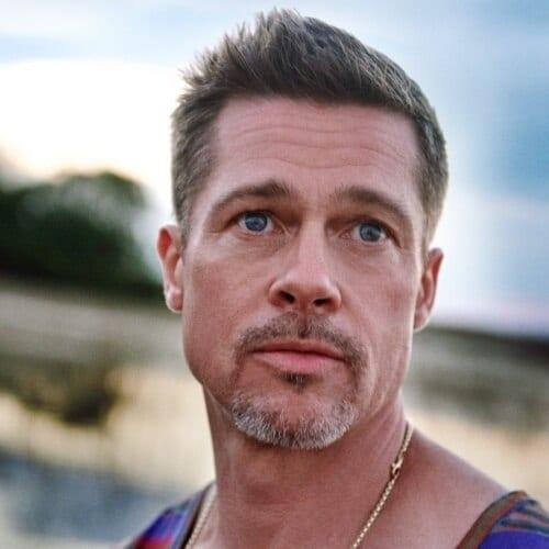 Quiff Brad Pitt Hairstyles