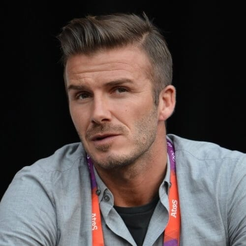 Quiff David Beckham Hairstyles